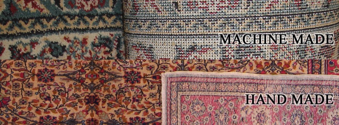Machine Made Carpet vs Handmade Carpet